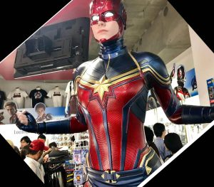 captain marvel cosplay costumes endgame