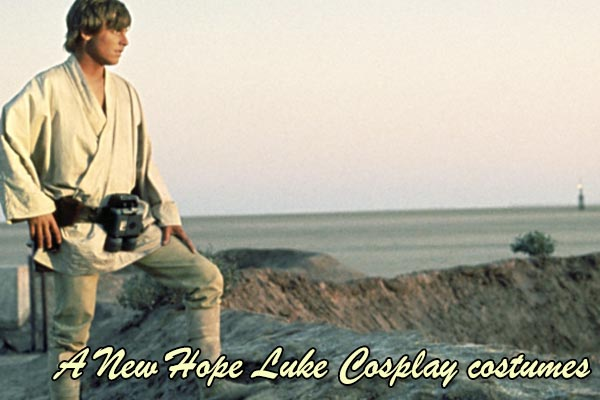 A New Hope Luke Cosplay costumes